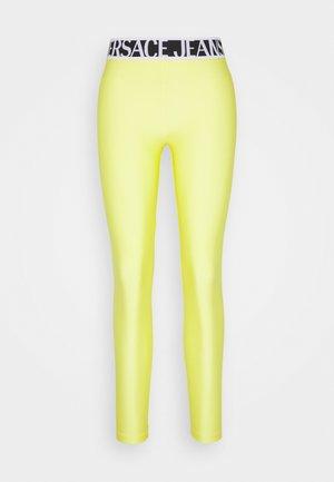 Leggings - neon yellow