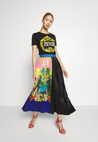 Versace Jeans Couture - LADY SKIRT - Gonna a campana - pavone - 1