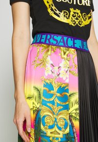 Versace Jeans Couture - LADY SKIRT - Gonna a campana - pavone - 5