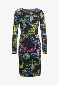 Versace Jeans Couture - Pouzdrové šaty - black - 3