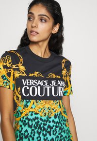 Versace Jeans Couture - LADY DRESS - Jersey dress - pure mint - 4