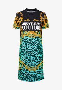 Versace Jeans Couture - LADY DRESS - Jersey dress - pure mint - 3