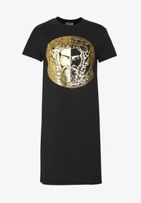 Versace Jeans Couture - LADY DRESS - Vestito estivo - black/gold - 4