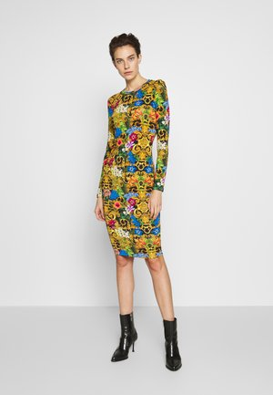 LADY DRESS - Jersey dress - multi-coloured