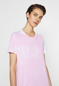 Versace Jeans Couture - LADY DRESS - Day dress - white/rose - 4