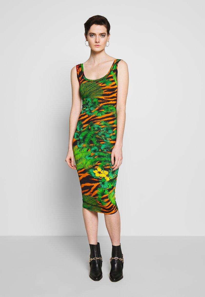 Versace Jeans Couture - Žerzejové šaty - mult scuri