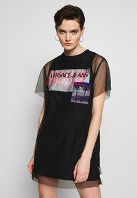 Versace Jeans Couture - Denní šaty - black - 0
