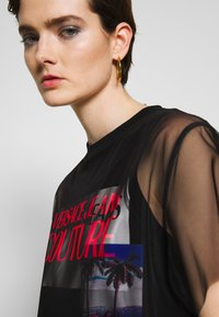 Versace Jeans Couture - Denní šaty - black - 3