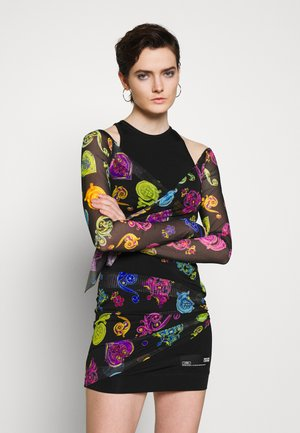 Pouzdrové šaty - multi colour