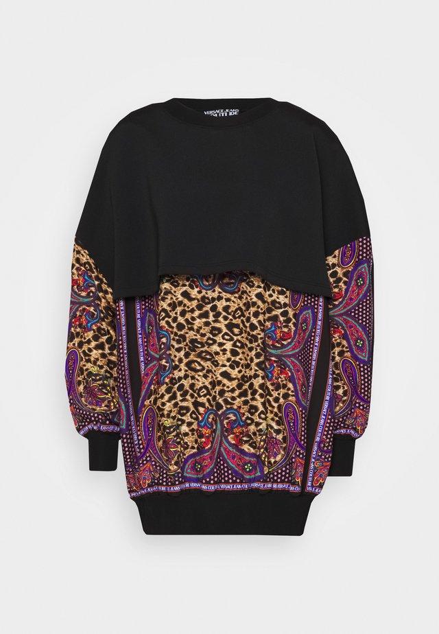 Sukienka letnia - black/multi coloured
