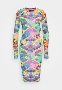 Versace Jeans Couture - Shift dress - rose/wild orchid - 4