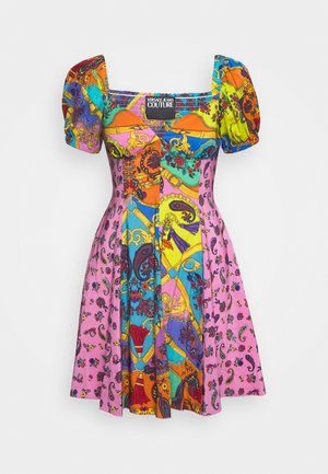 Day dress - rose wild orchid