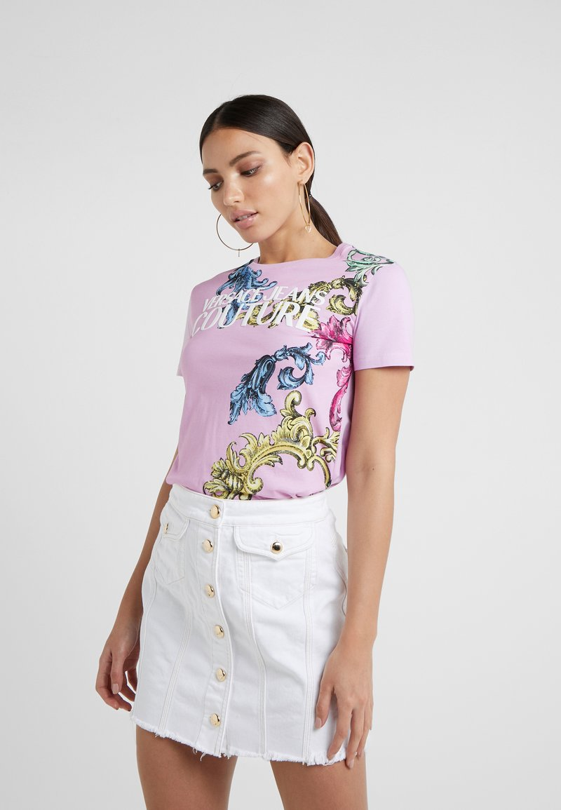 Versace Jeans Couture - Print T-shirt - pink