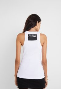 Versace Jeans Couture - LADY TOP - Linne - bianco ottico - 2