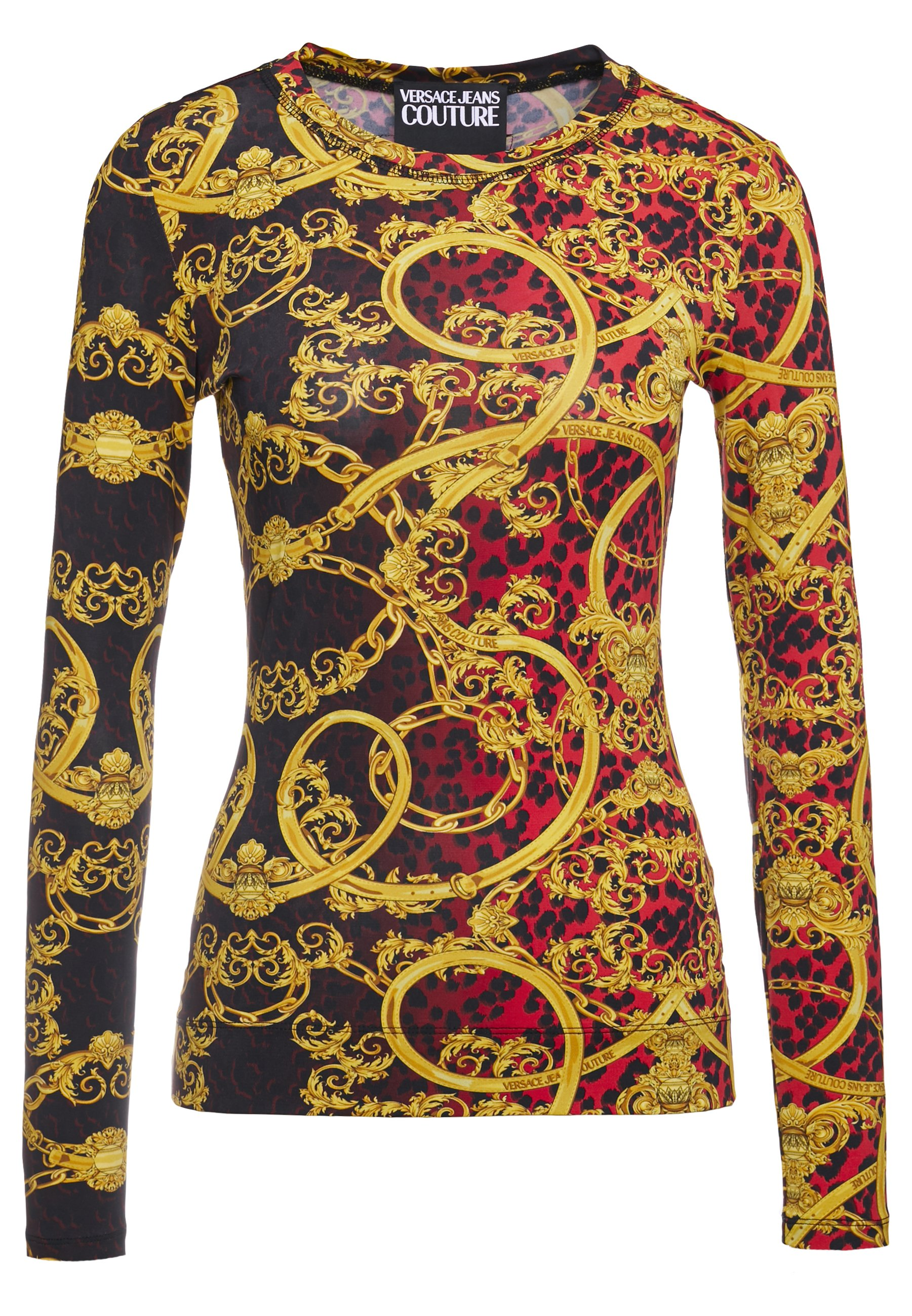Versace Jeans Couture Lady - Maglietta A Manica Lunga Racing Red