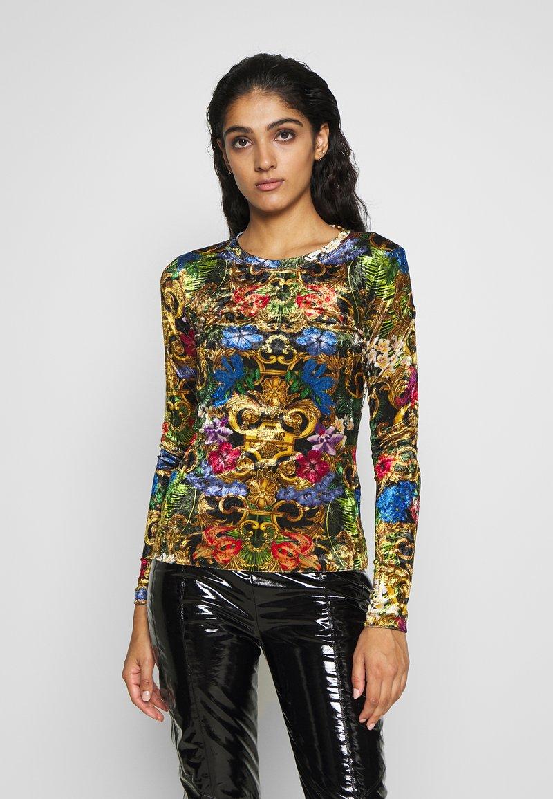Versace Jeans Couture - LADY - Top sdlouhým rukávem - mult scuri