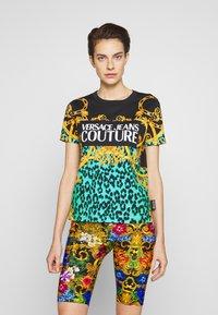 Versace Jeans Couture - LADY  - Print T-shirt - pure mint - 0