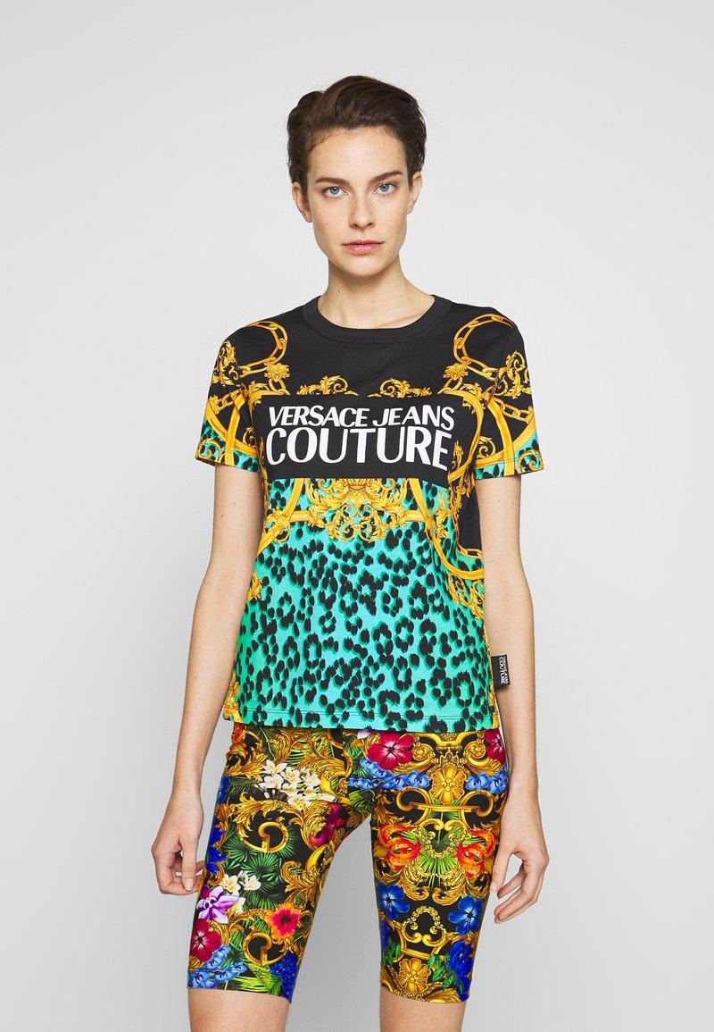 Versace Jeans Couture - LADY  - Print T-shirt - pure mint