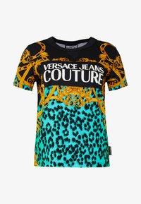 Versace Jeans Couture - LADY  - Print T-shirt - pure mint - 4