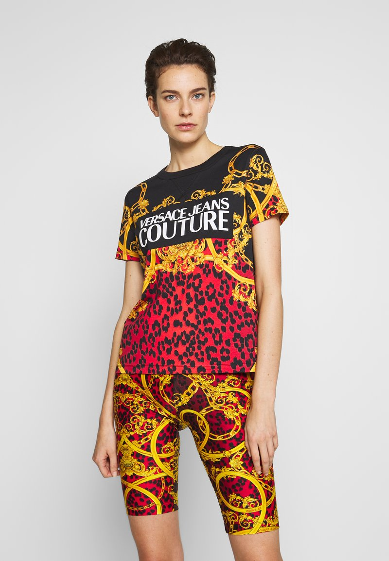 Versace Jeans Couture - LADY  - Print T-shirt - racing red