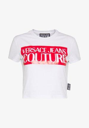 LADY  - T-shirt print - white