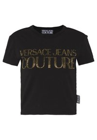 Versace Jeans Couture - LADY - T-shirt print - black/gold - 0