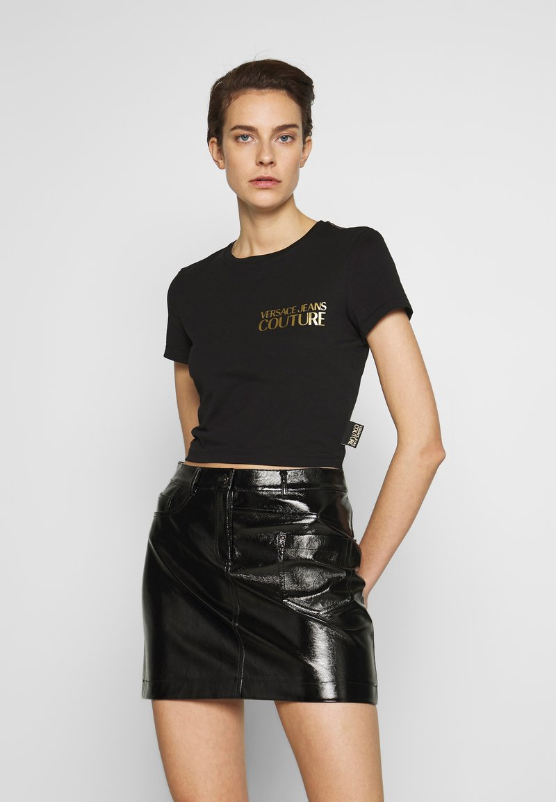 Versace Jeans Couture - LADY - Print T-shirt - nero