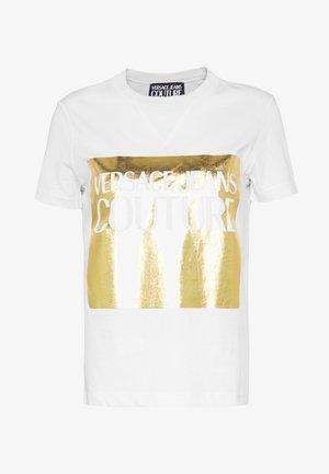 LADY - T-shirt print - bianco ottico