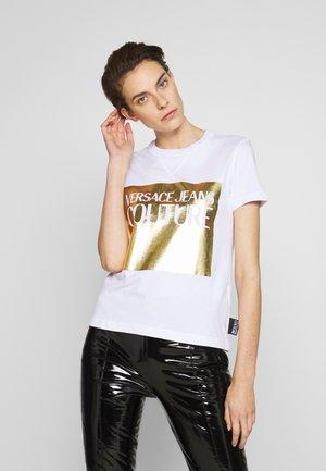 LADY - T-shirt imprimé - bianco ottico