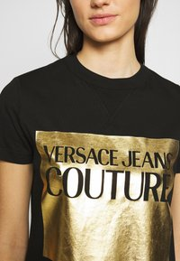 Versace Jeans Couture - LADY - Printtipaita - nero - 3
