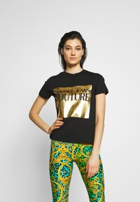 Versace Jeans Couture - LADY - Printtipaita - nero - 0