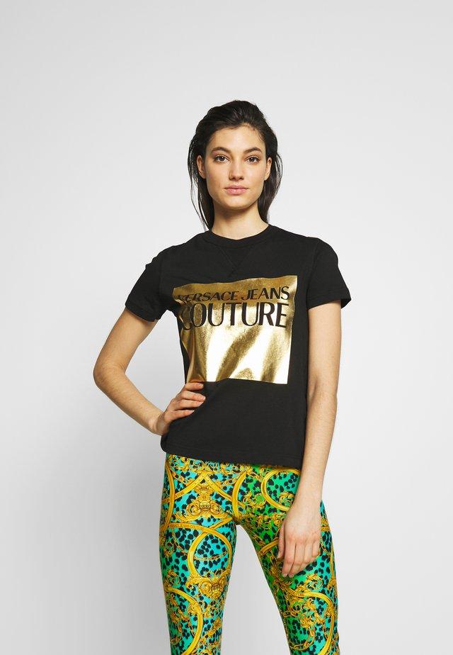 LADY - Print T-shirt - nero