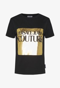 Versace Jeans Couture - LADY - Printtipaita - nero - 5
