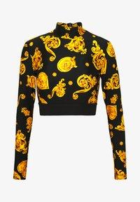 Versace Jeans Couture - Langærmede T-shirts - black - 5