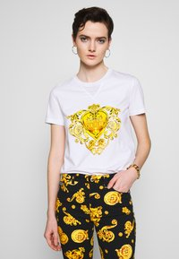 Versace Jeans Couture - Triko spotiskem - white - 0