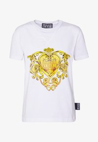 Versace Jeans Couture - Print T-shirt - white - 5