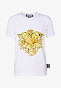Versace Jeans Couture - Triko spotiskem - white - 5