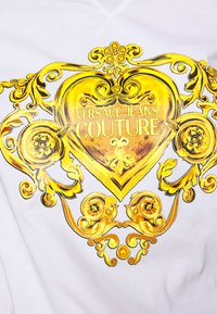 Versace Jeans Couture - Triko spotiskem - white - 6