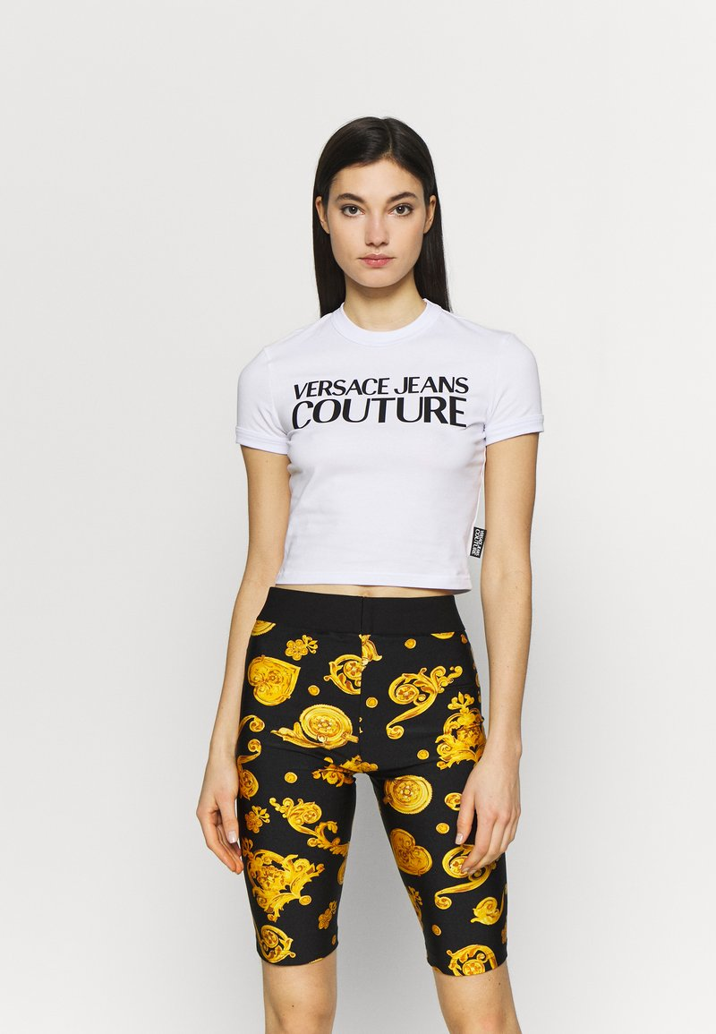 Versace Jeans Couture - Triko spotiskem - white
