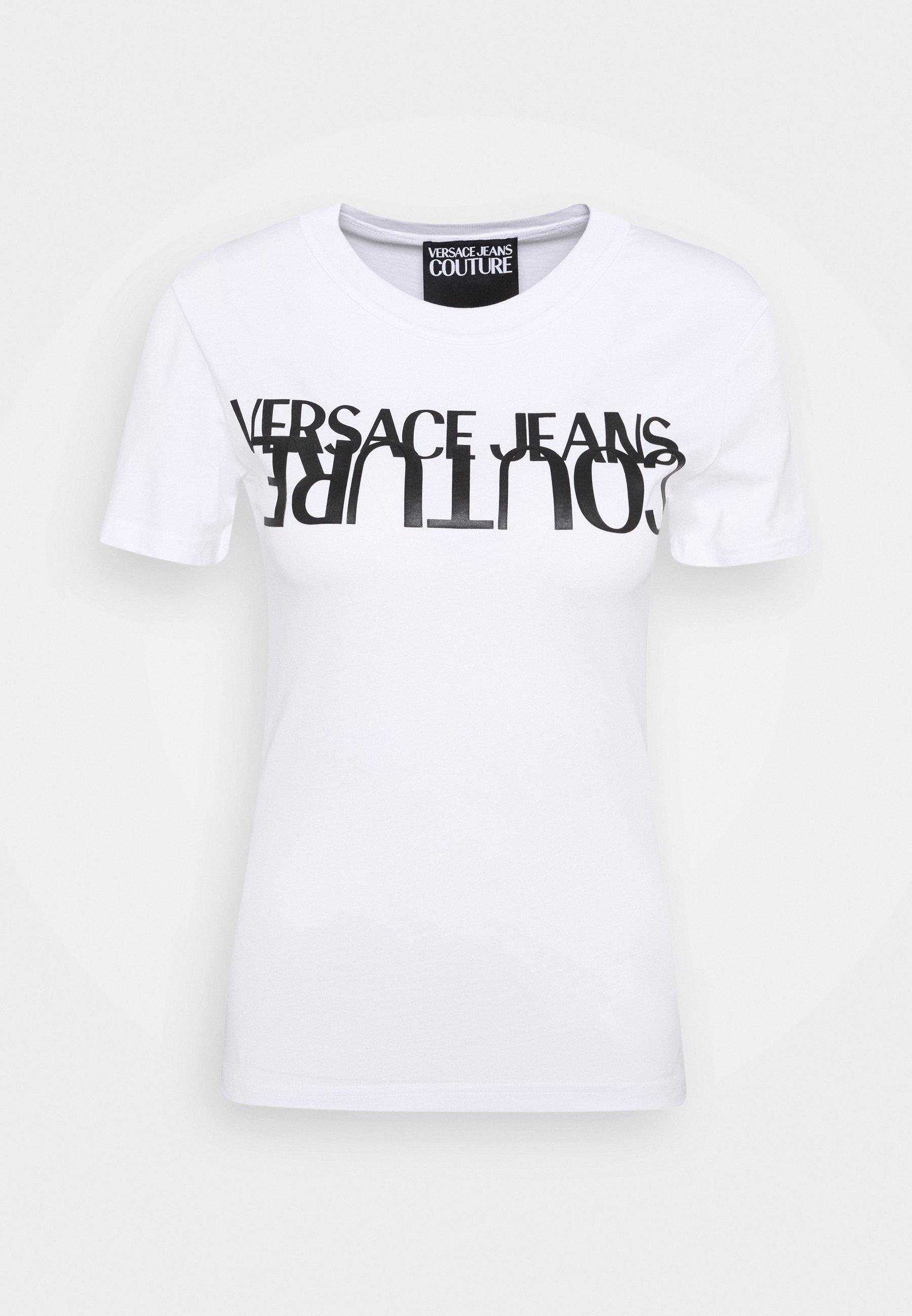 Versace Jeans Couture LADY T shirt print blackgold