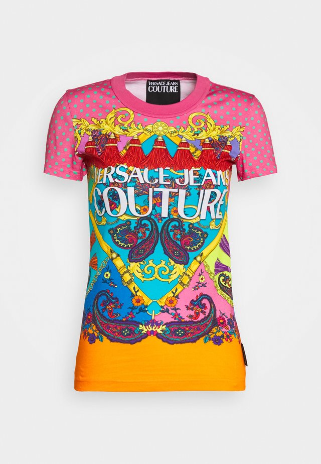 T-shirt con stampa - rose wild orchid