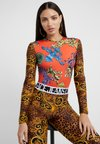 Versace Jeans Couture - Bluzka z długim rękawem - orange
