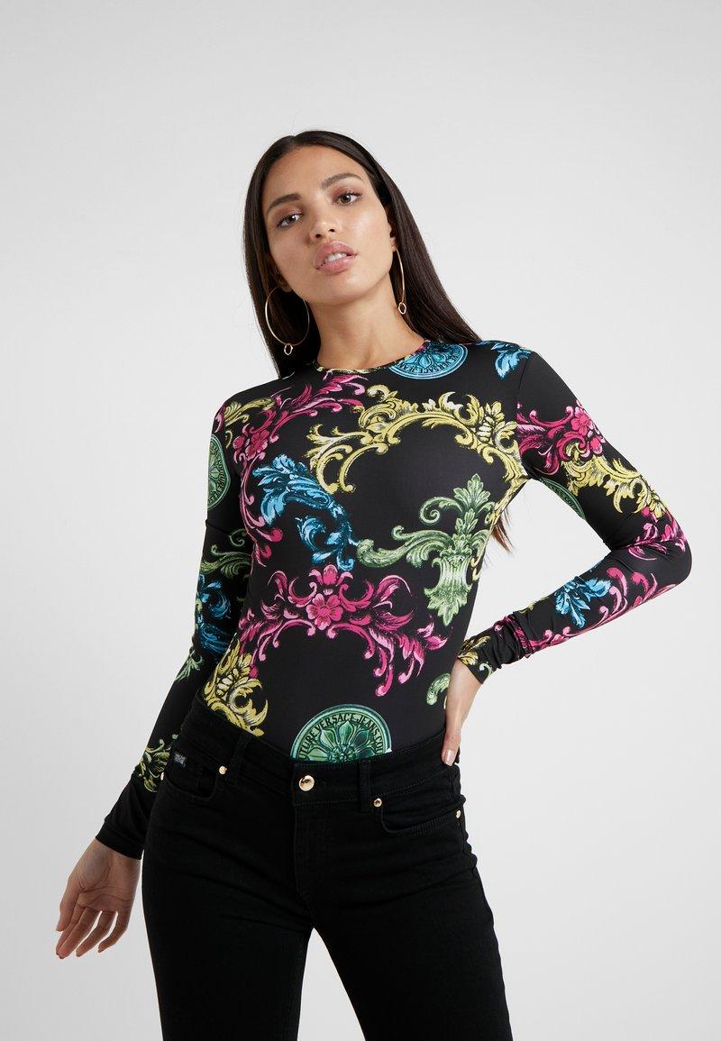 Versace Jeans Couture - T-shirt à manches longues - black