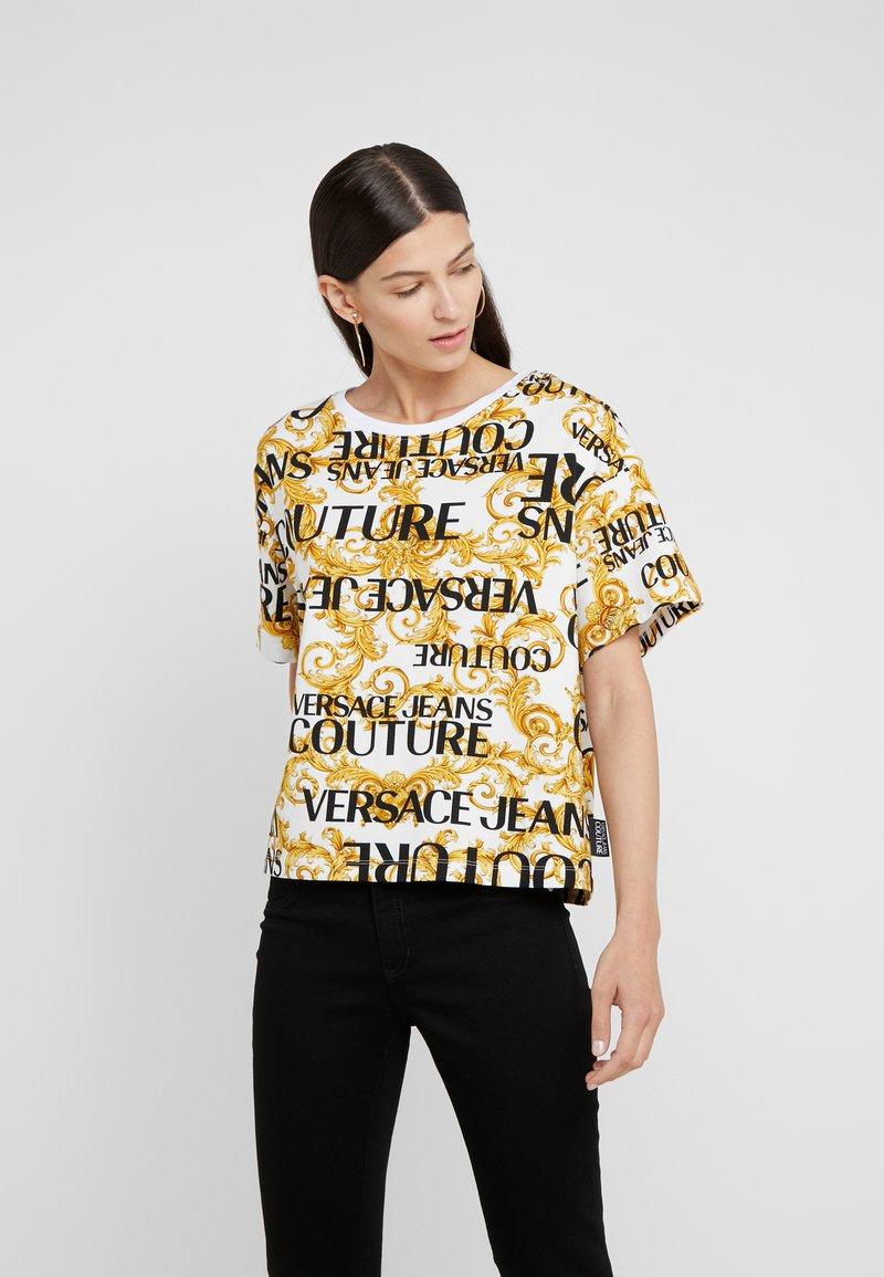 Versace Jeans Couture - T-Shirt print - bianco ottico