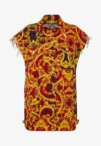 Versace Jeans Couture - LADY WAISTCOAT - Spijkerjas - racing red - 3