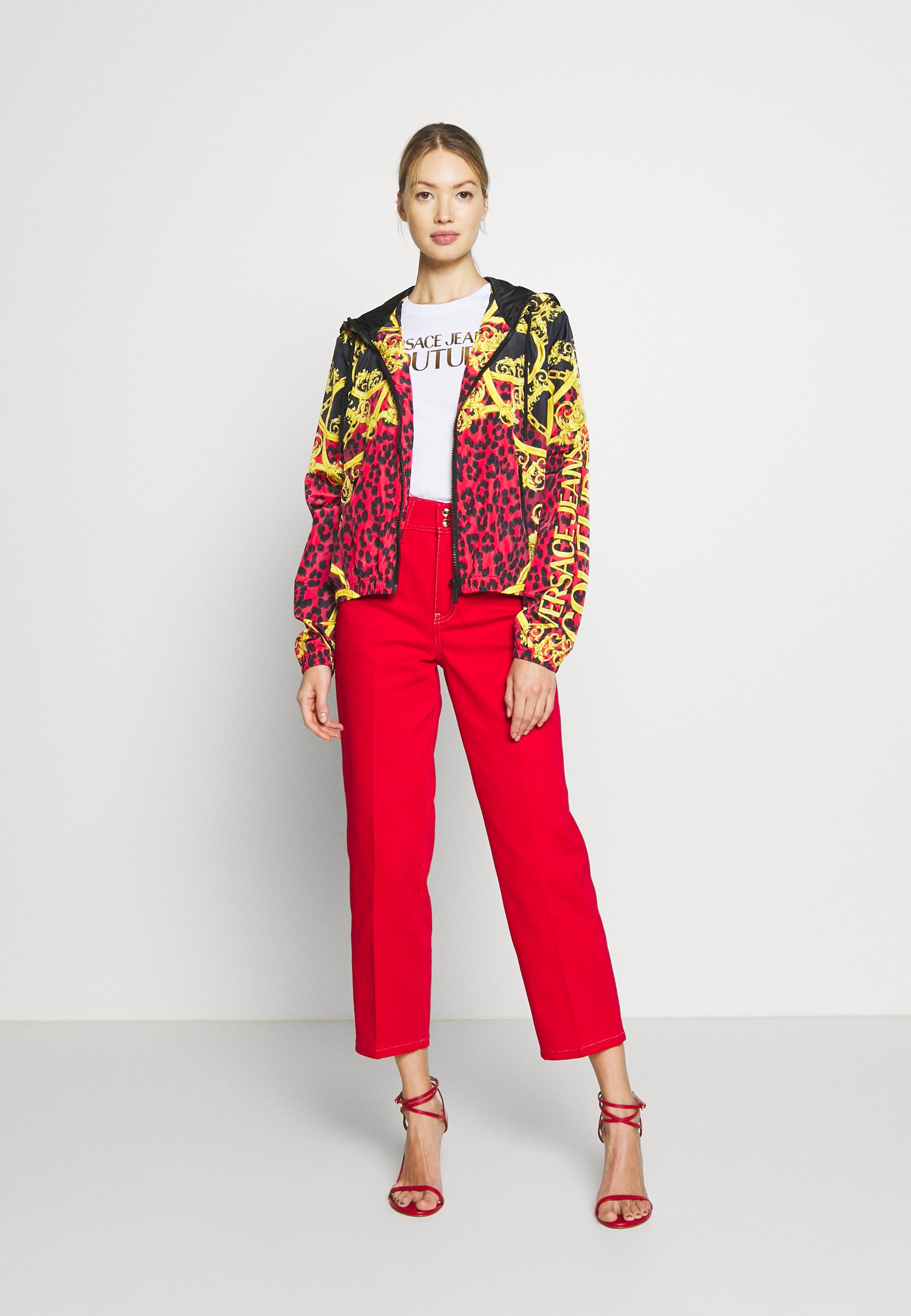 Versace Jeans Couture Lady - Tunn Jacka Racing Red