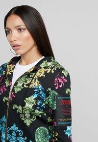 Versace Jeans Couture - Sudadera con cremallera - black - 4