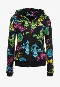 Versace Jeans Couture - Sudadera con cremallera - black - 3