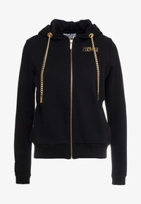 Versace Jeans Couture - Felpa aperta - nero - 4