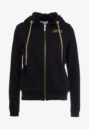 veste en sweat zippée - nero